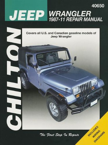 Chilton's Jeep Wrangler 1987-11 Repair Manual (Haynes Automotive Repair Manua) por Mike Stubblefield