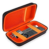 BOVKE Hartes EVA Stoßfeste Schützende Reisetasche Zum Tragen Aufbewahren Travel Hard Case Cover Tasche Für Amazon Fire TV Stick Fernbedienung / Sprachfernbedienung Reisen Hard Shockproof Carrying Case,Schwarz