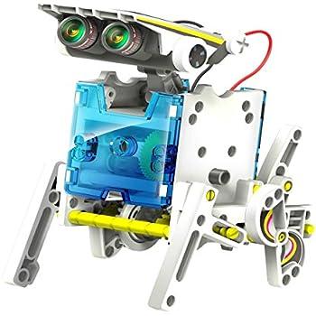 14 in 1 Solar Robot Kit construire Robot Bateau Car Boxer Chien Tortue Walker Surfer Slither Crab Row Beetle