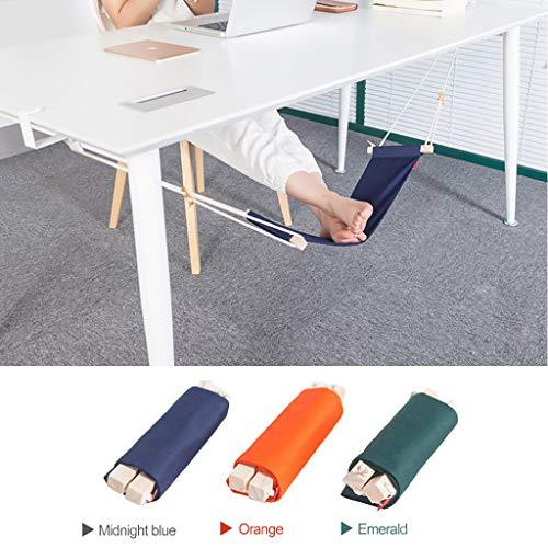 Hängematte, Unter Schreibtisch Fußstütze Ständer Protable Beine hoch Hängematte Schaukel für Ihr Büro Nickerchen, Home Fußstütze mit Hängeseil ()