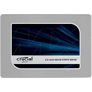 Crucial CT500MX200SSD1 MX200 500 GB SATA 2.5 Inch 7 mm (with 9.5 mm Adapter) Internal Solid State Drive