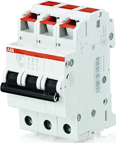 Price comparison product image ABB Stotz S & J S203S B16 B 16 A 3-Pin 440 V System Pro M Compact Cable Protection Switch Circuit Breaker 4016779709552