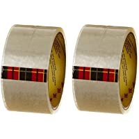 3M Scotch Transparent Packing Tape 48mm*50m (Pack of 2)