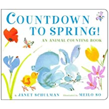 Countdown to Spring!: An Animal Counting Book by Janet Schulman (2004-01-01)