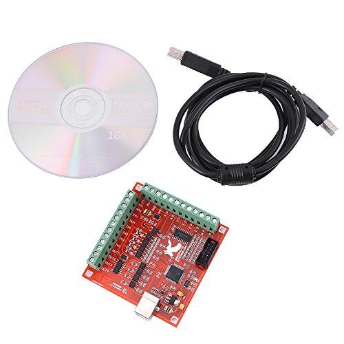 Achsen Bewegungssteuerkarte CNC MACH3 USB 4 Axis Breakout Board Controller Schnittstellen Ausbruch für Schrittmotortreiber Fräsmaschine Interface Axis Motion Controller