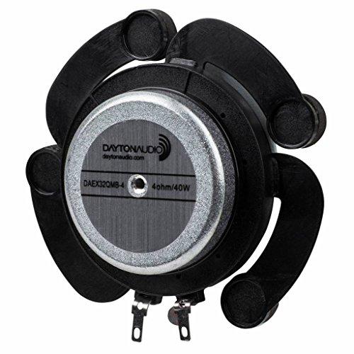 Dayton Audio DAEX32QMB-4 Quad Feet Mega Bass 32mm Exciter 40W 4 Ohm -