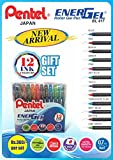 Best Pentel Ink Pens - Pentel Ener Gel Roller Gel Pen 12pc Set Review