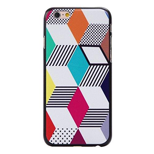 MOONCASE iPhone 6 6S Coque, Slim Fit Hardshell Back Coque Etui Case Cover pour iPhone 6 6S [Arbres] boîte