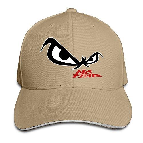 Hittings Unisex No Fear Owl's Eyes Sandwich Baseball Cap Natural par  Hittings
