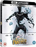 Black Panther Steelbook 4k Ultra HD+2D Uk Exclusive Limited Edition Steelbook Blu-ray Region Free Sold out!!