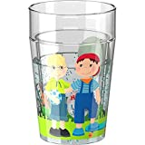 Glitzerbecher Little Friends Freundschaft