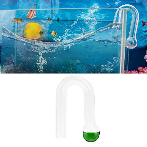 SENZEAL Aquarium Fischbecken Hängender CO2-Monitor Glas CO2-Monitor für CO2 Gehalt im Aquarium Testen