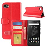 HualuBro BlackBerry Motion Case, Premium PU Leather
