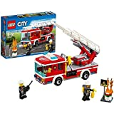 LEGO - 60107 - City - Jeu de construction  - Le Camion de Pompiers avec Échelle