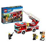 #5: Lego Fire Ladder Truck, Multi Color