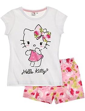 Hello Kitty Mädchen Shorty-Pyjama 2016 Kollektion - weiß