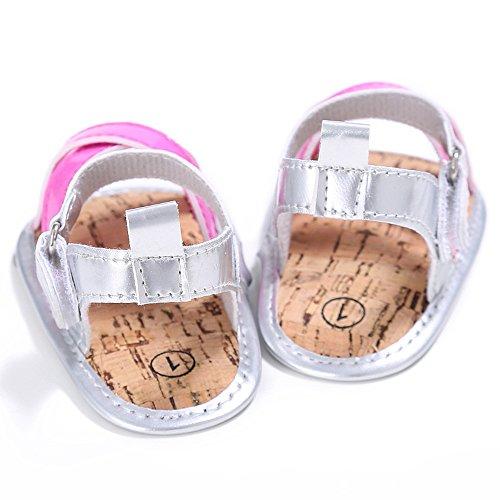 ESTAMICO , Chaussures premiers pas pour bébé (fille) Rose
