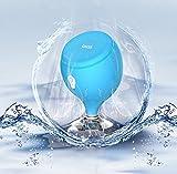 Nuevo Mini resistente al agua inalámbrico ducha altavoz, onxe flotante a prueba de agua IPX6Bluetooth 3.0altavoces, altavoz portátil y LED luces de Estado de ánimo, Super Bass y sonido HD para ducha, piscina, playa