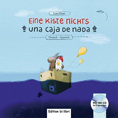 Eine Kiste Nichts: Kinderbuch Deutsch-Spanisch