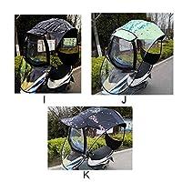 ewby Plastic Shell Umbrella Upgrade Version Show Booth Electric Car Umbrella Umbrella Battery Car Umbrella Shed Motorcycle Canopy Windshield K-Rear view mirror