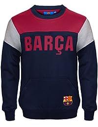 FC Barcelona officiel - Pull thème football - motif blason - garçon