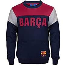 d464272d5f603 FC Barcelona - Sudadera oficial para niño - Con el escudo del club