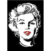 Amazon.it: Marilyn Monroe - Stampe e quadri su vetro / Stampe e ...