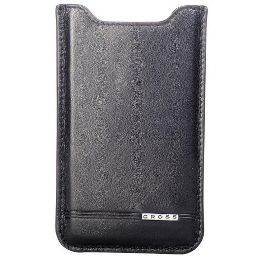 Cross Black Leather iPhone 5 Case - Black