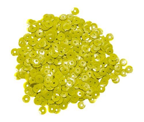 Form Master Cup Pailletten, Kunststoff, gelb, 5mm, 7g