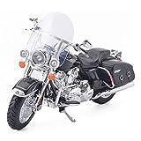 Neuf et Importé Road King le modèle classique Moto, moulé sous pression et ABS Moto en alliage de jouets, moteur miniature