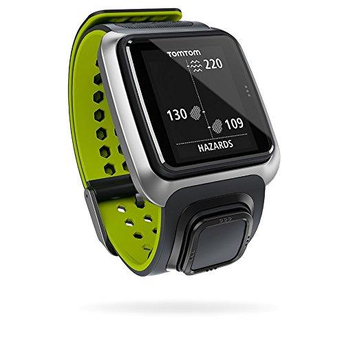 TomTom Golfer GPS-Uhr, grau/leuchtgrün