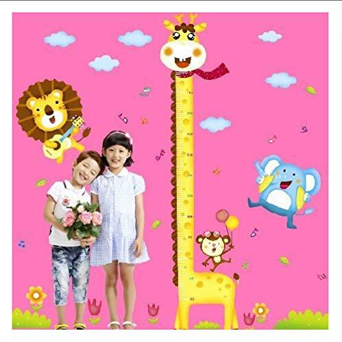 Ljtao Zeitlich Begrenzte Wandaufkleber Giraffe Höhe Wandaufkleber Großhandel Kindergarten Kinderzimmer Messstab Animal60X90Cm - Großhandel Girls Fashion