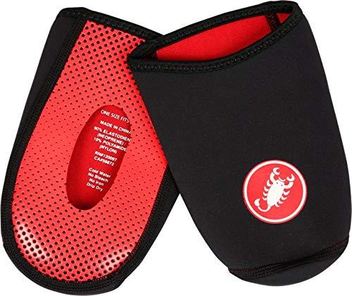 Castelli toe thingy 2, copriscarpe uomo, black, uni