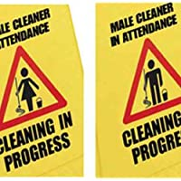 Robert Scott NWSAEH Cleaner in Attendance Safety Sign, Male/Female