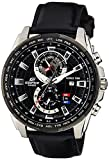 Best Casio Edifice Watches - Casio Edifice Analog Black Dial Men's Watch-EFR-550L-1AVUDF (EX264) Review
