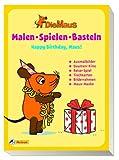 Die Maus - Malen, Spielen, Basteln: Happy Birthday, Maus!: Ausmalbilder, Daumenkino, Reise-Spiel, Tischkarten, Bilderrahmen, Maus-Maske