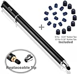 B & D Eingabestift Touchstift 2-in-1 Touch Pen Touchscreen Stift Stylus für Handy