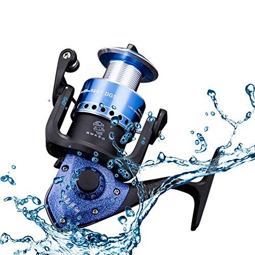 RGTOPONE sinistra/destra intercambiabile collassabile maniglia pesca a spinning reel progettazione di fascia alta