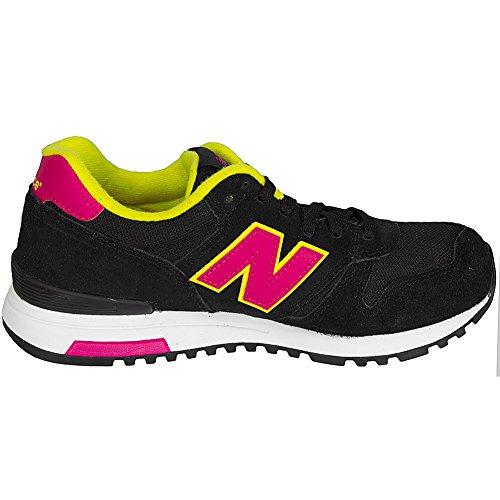 New Balance Damen-Sneakers WL 565 MY Suede/Mesh schwarz/pink Schwarz