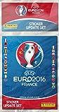 Panini 003028BAGF Aktualisierungsset, 72Aufkleber, Neue Euro 2016