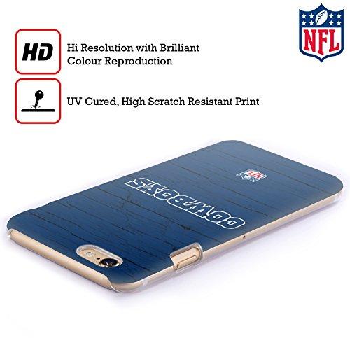 Offizielle NFL Streifen Dallas Cowboys Logo Ruckseite Hülle für Apple iPhone 6 Plus / 6s Plus Verzweifelt