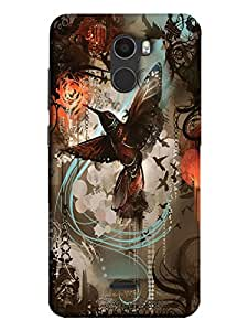 Printed Back Cover For Gionee X1 Back Cover by Treecase