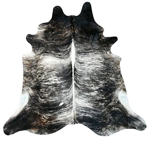 Zerimar Natural Premium Kuhfell Teppich | 4.00 m² MAßNAHMEN: 245x235 cms | Echter Kuhfellteppich | Autetischer Fell Teppich