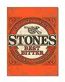 Funky NE Ltd J0424 Wand-Poster, Motiv Stones Brewery -