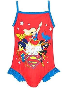 DC SuperHero - Bañador para niña - DC Superhero