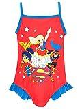 DC Superhero - Costume da Bagno Ragazze - DC Superhero - 8-9 Anni