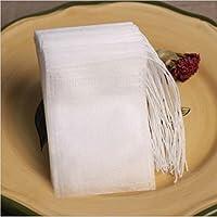 Macxy - Teabags 100Pcs / Lot 5.5 x 7cm leeren Teebeutel mit Schnur Heilen Seal Filterpapier für Herb Loser Tee preisvergleich bei billige-tabletten.eu