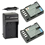 DSTE 2x DMW-BLF19E Battery + DC141 Trave...