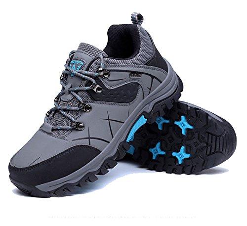 Les Hommes De Printemps Et D'automne Chaussures De Randonnée En Plein Air Glissement Multicolore Multi-taille Blue