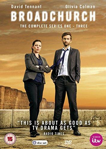Broadchurch Series 1-3 Boxed Set (6 Dvd) [Edizione: Regno Unito] [Import anglais], DVD/BluRay